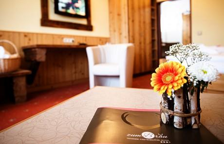 Wohlfühlzimmer unsers Wellnesshotel / Bayerischer Wald