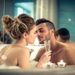Romatisches Bad zu Zweit im 4 Sterne Wellnesshotel Bayerischer Wald