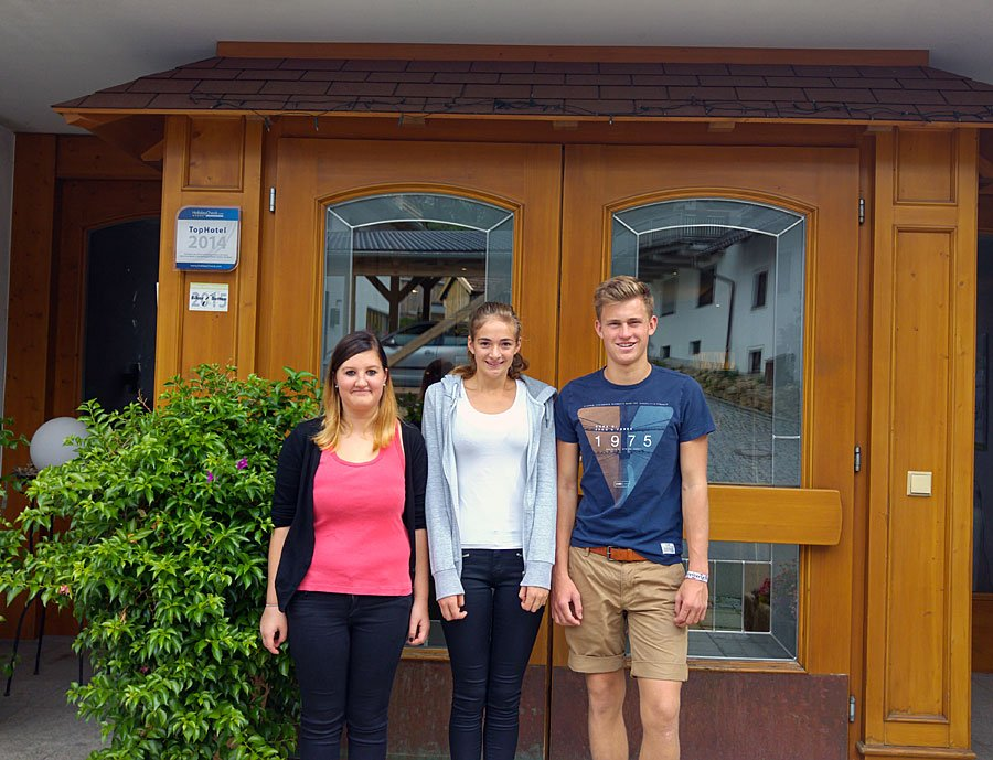 Unsere Neuen Azubis im Wellnesshotel Zum Bräu / Bayerischer Wald