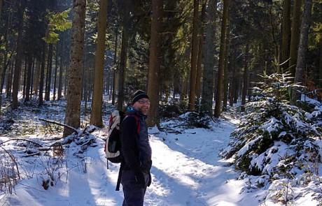 Die Ersten Frühlingstage genutzt für eine Wanderung durch den Bayerischen Wald
