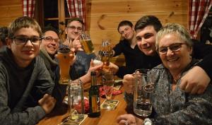 gute Stimmung bei der Weihnachtsfeier unseres Wellnesshotel im Bayerischen Wald