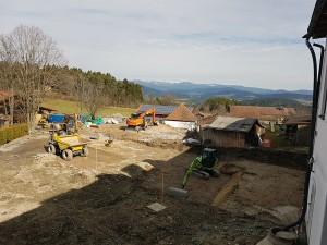 Umbau unseres 4 Sterne Wellnesshotel im Bayerischen Wald