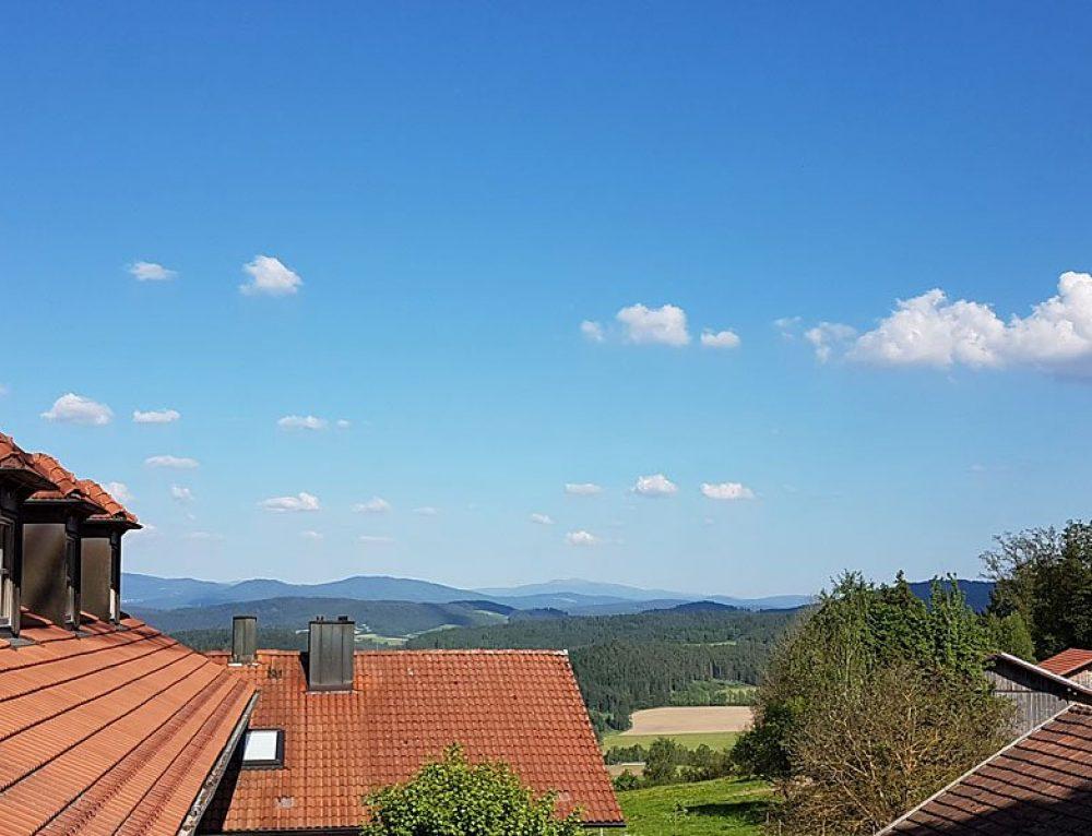 Der Umbau zum 4 Sterne Wellnesshotel im Bayerischen Wald nimmt langsam Formen an