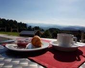 Panoramaterasse unseres 4 Sterne Wellnesshotel im Bayerischen Wald