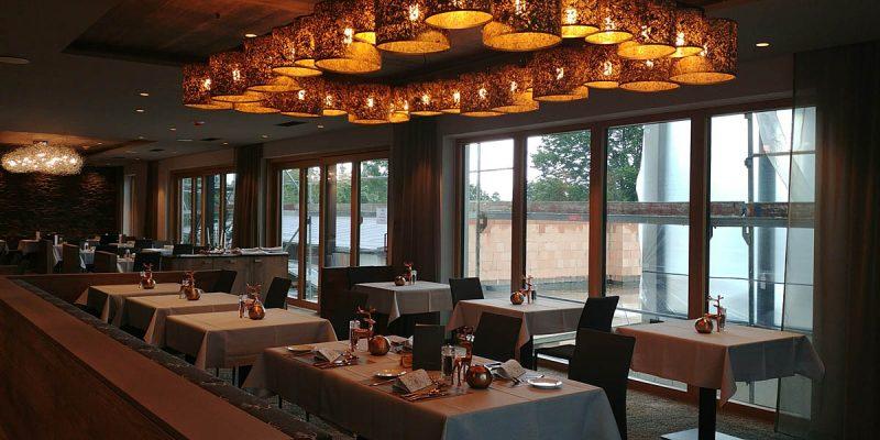 Das Panorama Restaurant unseres 4 Sterne Wellnesshotel im Bayerischen Wald