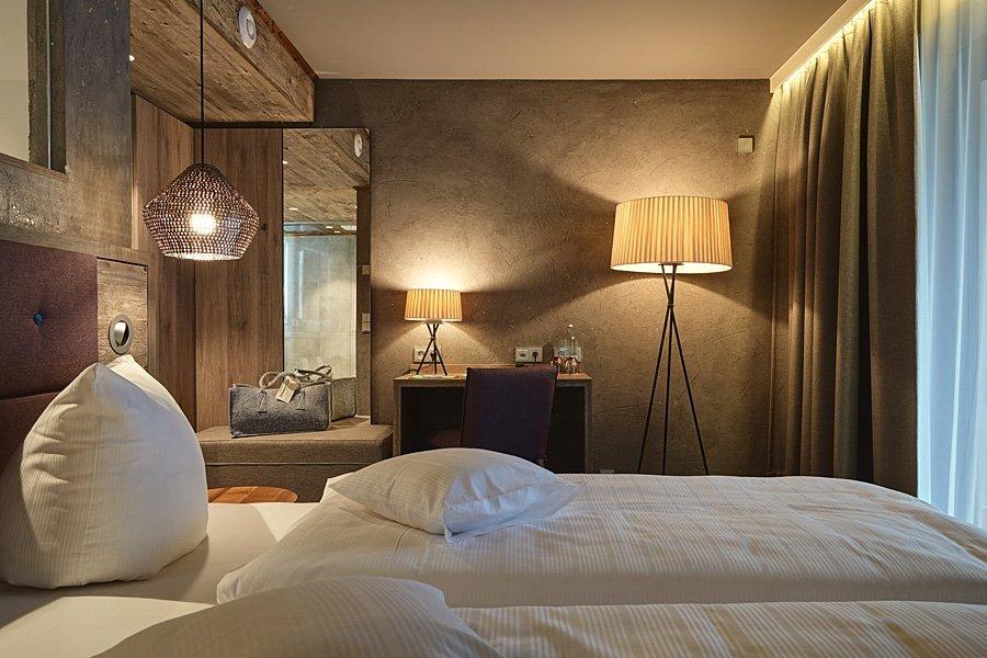 Luxuröse DZ Heimatzeit unseres 4 Sterne Wellnesshotel im Bayerischen Wald
