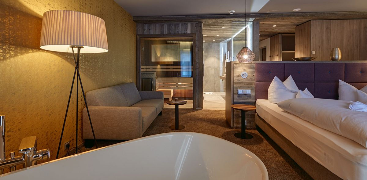 Luxus Suiten unseres 4 Sterne Wellnesshotel im Bayerischen Wald