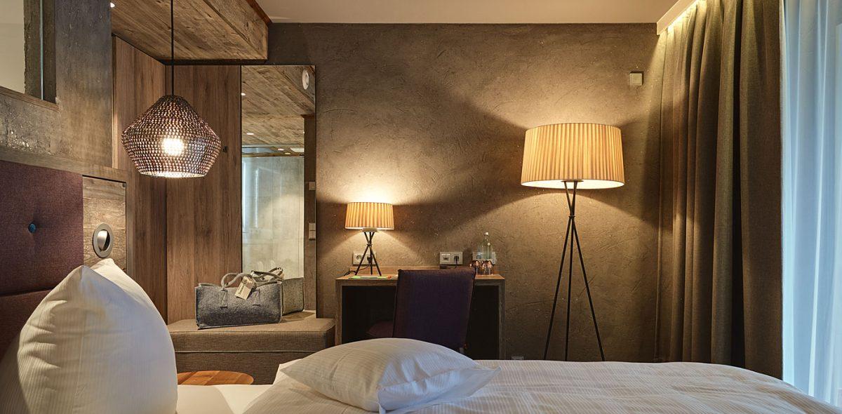 Romatische Hotelzimmer unseres 4 Sterne Wellnesshotel - Bayerischer Wald