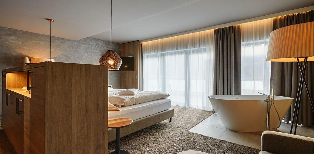Traumhafter Ausblick aus unseren Zimmern im 4 Sterne Wellnesshotel