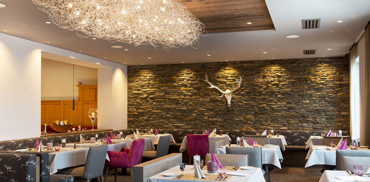 romantisches Restaurant unseres 4 Sterne Wellnesshotel