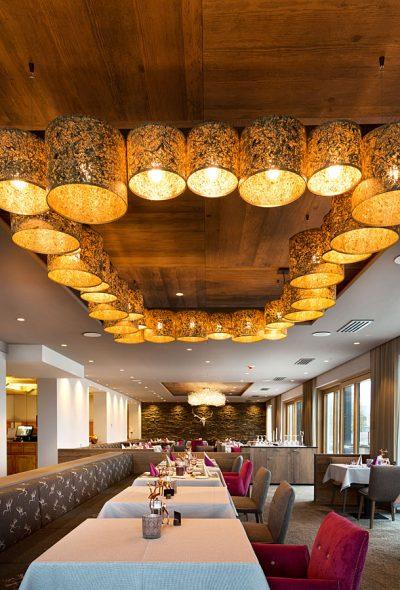 luxuräses Hotelrestaurant unseres Wellnesshotel