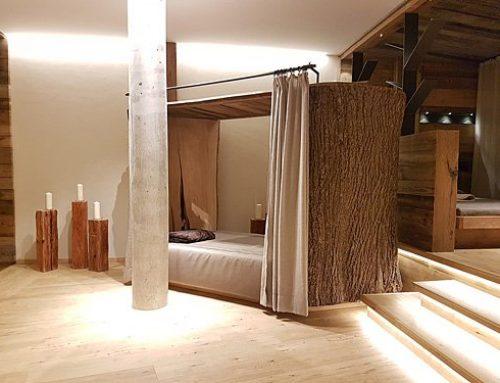 """""""Baumbett""""im Ruhebereich unseres 4 Sterne Wellnesshotel Bayerischer Wald"""