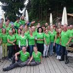 Das Team vom Wellnesshotel Zum Bräu