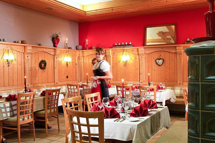 Restaurant unseres Wellnesshotel