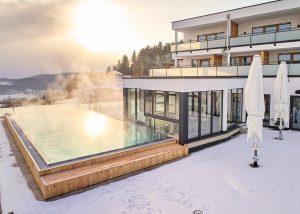Winter Wellnessurlaub im Bayerixhen Wald - im 4 Sterne Wellnesshotel Zum Bräu