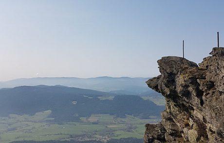 Ausblick vom Keitersberg bei Ihren Wanderurlaub in unserem 4 Sterne Wellnesshotel