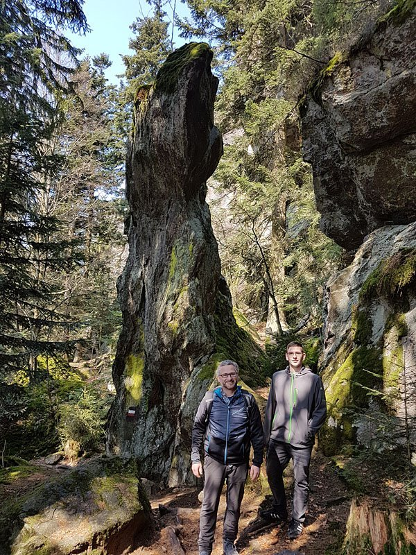 Wanderung im Bayerischen Wald - Ausgangspunkt ist unser 4 Sterne Wellnesshotel