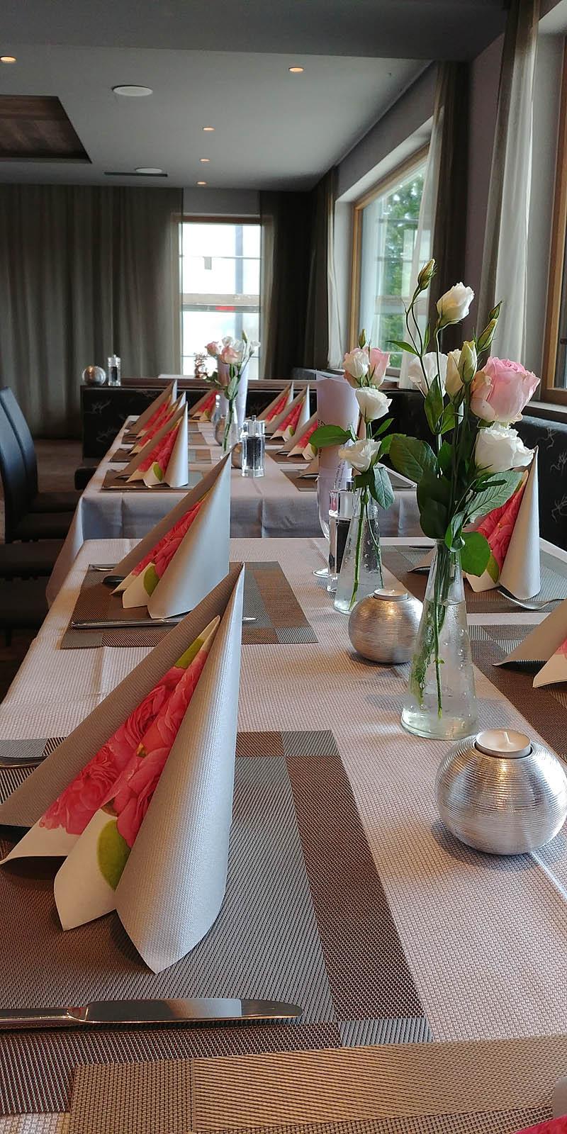 das neue Restaurant unseres 4 Sterne Wellnesshotel im Bayerischen Wald