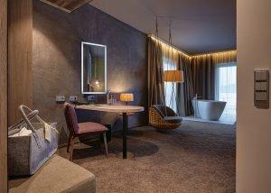 Romantische Suite Bergzeit für verliebte Paare im 4 Sterne Wellnesshotel Bayerischer Wald