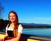 Wir gratulieren unserer Auszubildenden - vom 4 Sterne Wellnesshotel im Bayerischen Wald- zu Ihrem sehr guten Prüfungsergebnis