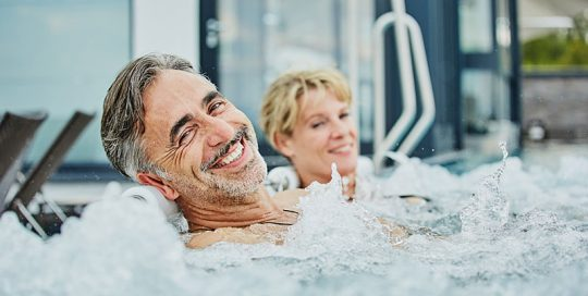 4 Sterne Wellnesshotel im Bayerischen Wald mit relax whirlliegen