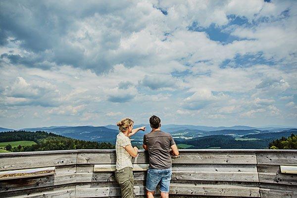 Genießen Sie die wunderschöne Natur rund um unser Wellnesshotel im Bayerischen Wald
