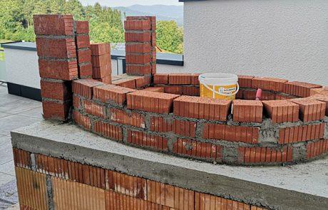 Backofenbau in unserem Wellnesshotel im Bayerischen Wald 2