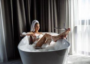 Luxuxsuite Wellnesshotel mit eigener Badewanne