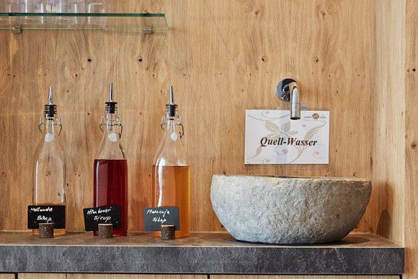 Saunabereich unseres Wellnesshotel in Bayern
