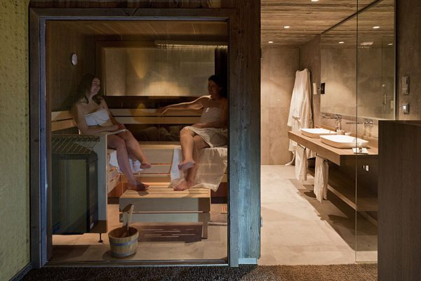 Relaxsuiten mit eigener Sauna in unserem Wellnesshotel