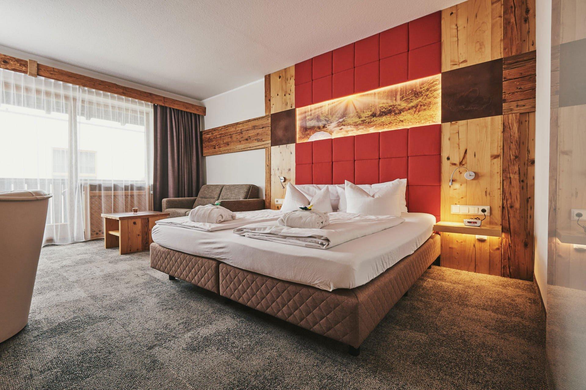 Romantikzimmer im 4 Sterne Wellnesshotel im Bayerischen Wald