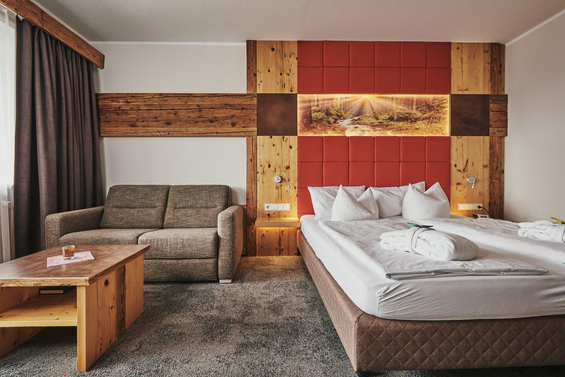 Unser beliebtes Wohlfühl-Doppelzimmer - Wellnesshotel Bayerischer Wald