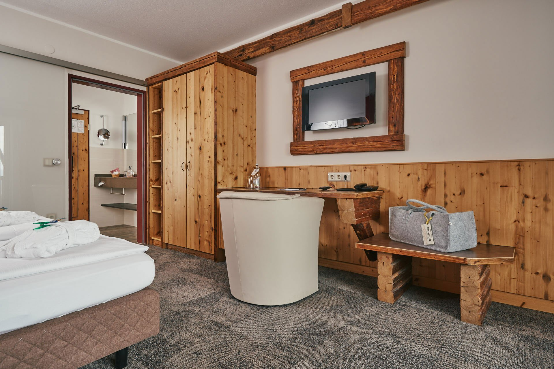 Wohlfühlzimmer im Wellnesshotel Bayerischer Wald