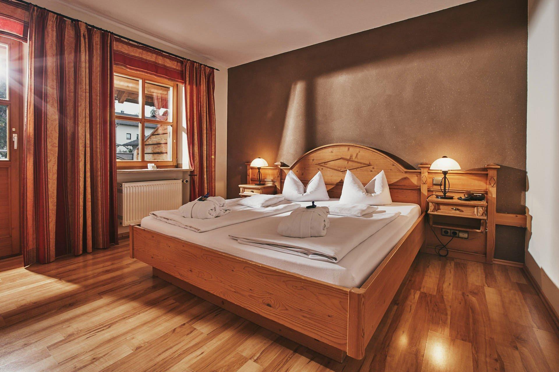 Landlust Doppelzimmer unseres Wellnesshotel im Bayerischen Wald