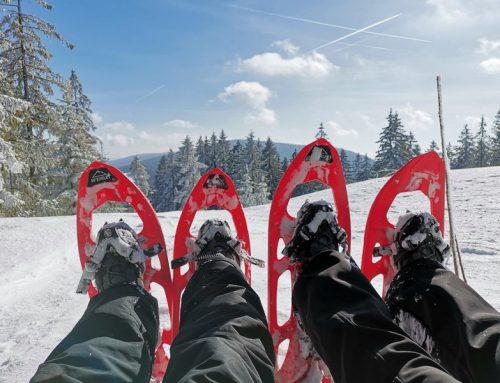 Schneeschuhwandern im Bayerischen Wald – Wellnesshotel Zum Bräu