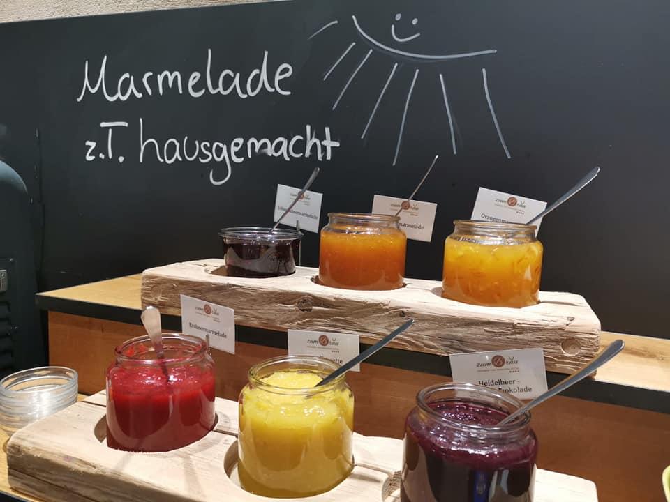 Hausgemachte Marmeladen unsere 4 Sterne Wellnesshotel
