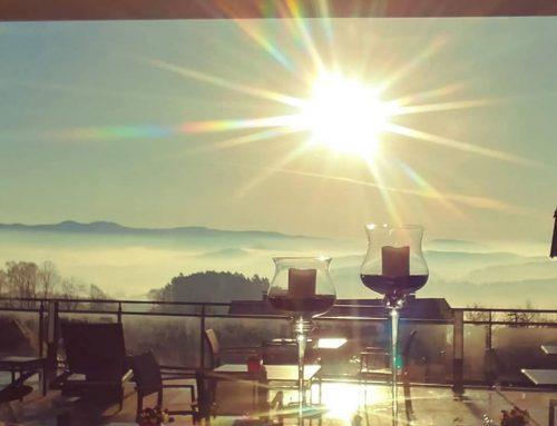 Sonnige Morgenstimmung im Bayerischen Wald – Wellnesshotel Zum Bräu