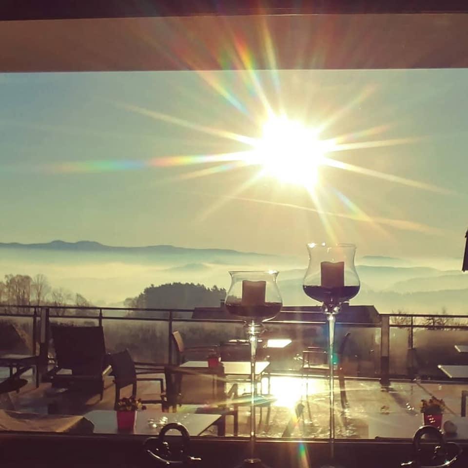 Sonnenaufgang im Wellnesshotel Bayerischer Wald
