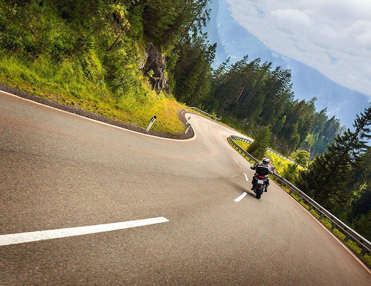 Tourenparadies Bayerischer Wald -Motorradurlaub in Bayern
