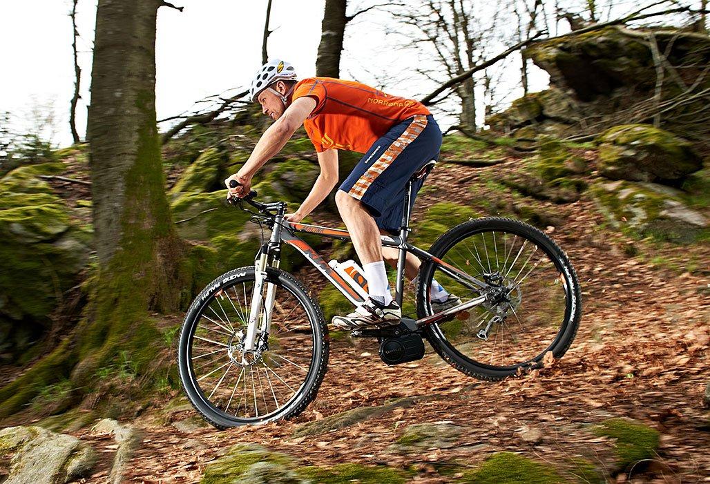 Mountainbiken im Bayerischen Wald