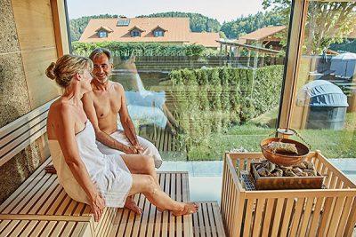 Panoramasauna in unseren Wellnesshotel im Bayerischen Wald
