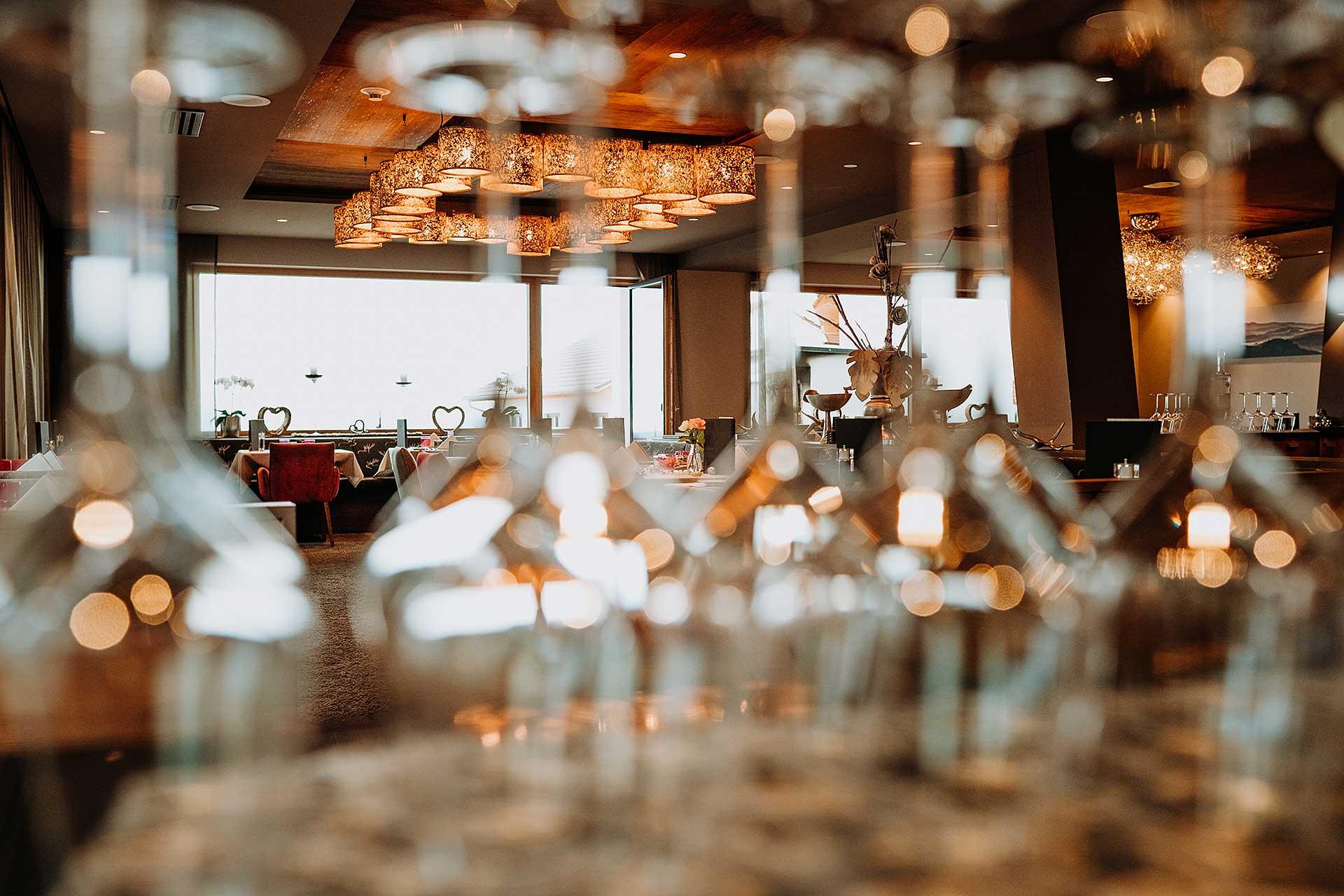 Gourmet-Pensions Restaurant im 4 Sterne Wellnesshotel Bayerischer Wald
