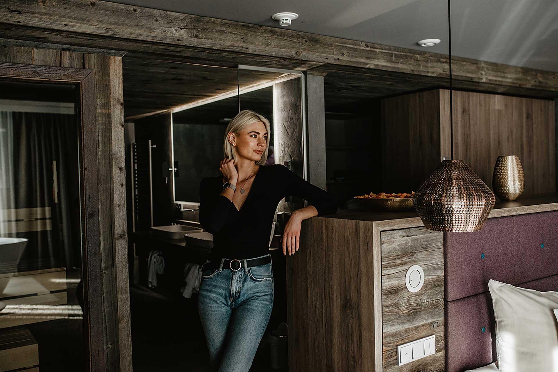 Suite mit eigener Sauna im Wellnesshotel Bayerischer Wald