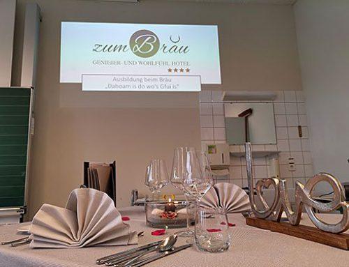 Azubi-Tag / 4 Sterne Wellnesshotel Zum Bräu – Bayerischer Wald